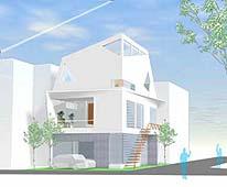 港区白金台の住宅
