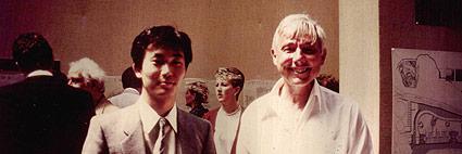 1986年ロンドン,ロイヤルアカデミーにて